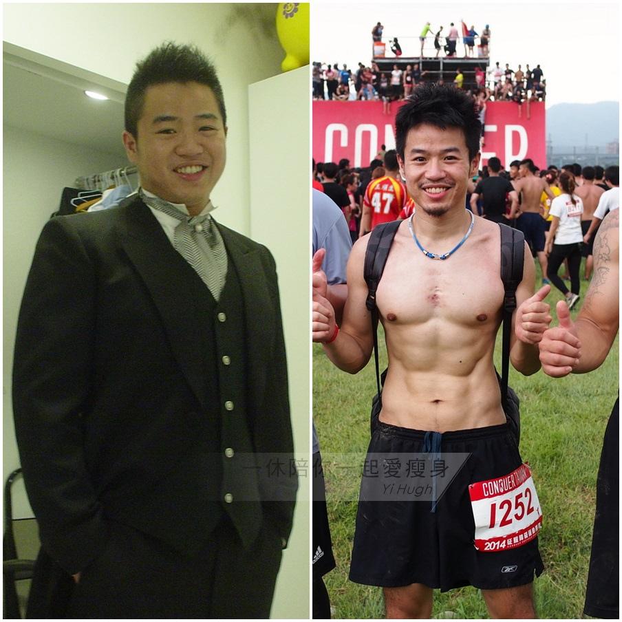 減肥前後84