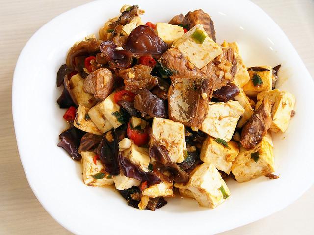 day061-午餐-茄汁鯖魚燒豆腐