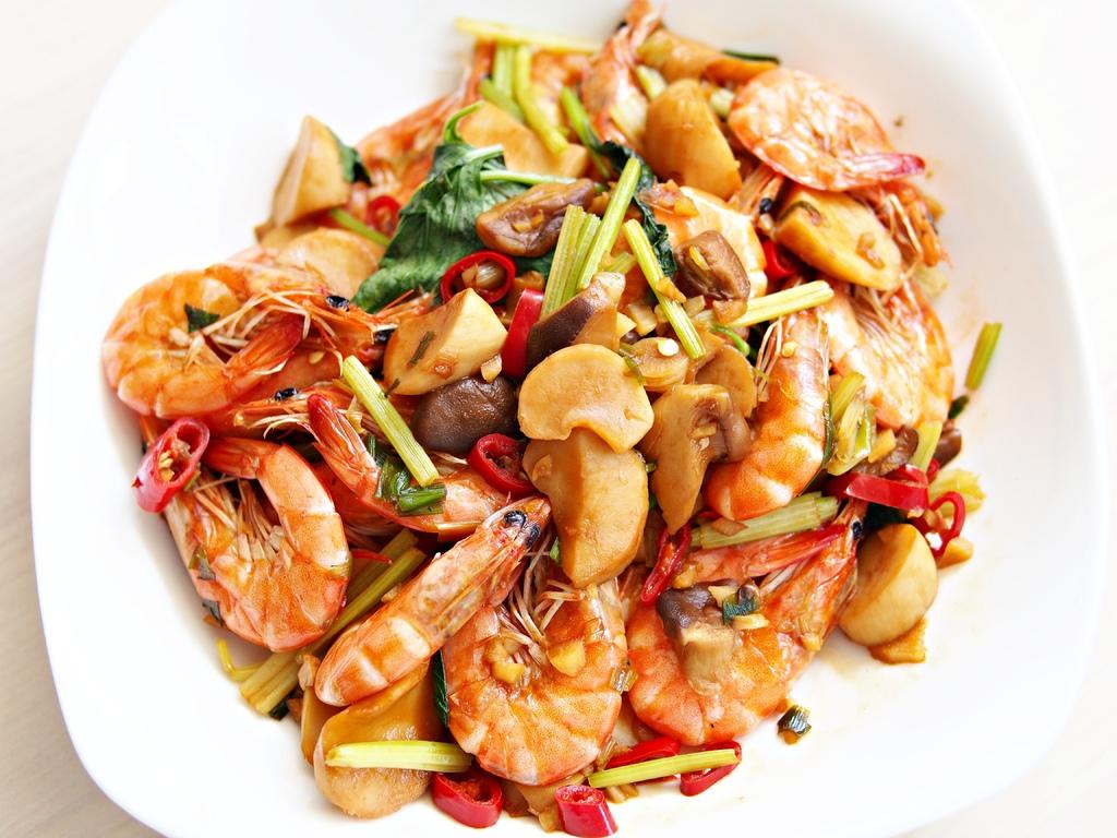 day067-午餐-乾燒白蝦.JPG